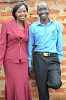 Sunday- CWI Ugandan Director, and his wife, Mrs. Sunday